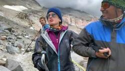 Görme engelli Melisa, Ağrı Dağı'na tırmandı