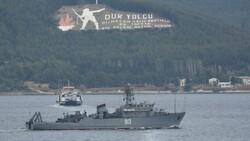 Çanakkale'den geçen Rus mayın tarama gemisi, Marmara'ya yol aldı