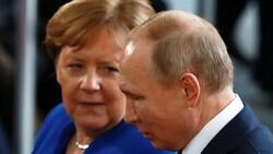 Angela Merkel'den Vladimir Putin'e veda ziyareti
