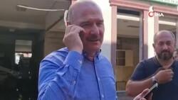Süleyman Soylu, selde Kur'an kursu öğrencilerini kurtaran emekli astsubaya teşekkür etti
