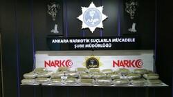 Ankara'da 62 kilo esrar ele geçirildi