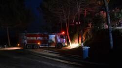 İstanbul'da kamp alanında yangın çıktı