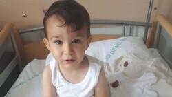Samsun'da maganda kurşunuyla vurulan bebek, koronaya yakalandı
