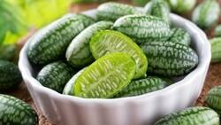 Dışı karpuz içi salatalık: Cucamelon meyvesinin faydaları