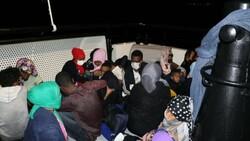 Çanakkale'de 59 düzensiz göçmen kurtarıldı