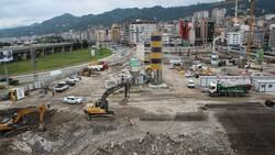 Rize'de tarihi dönüşüm başladı: Yeni yapılar kazıklarla kayalara sabitlenecek