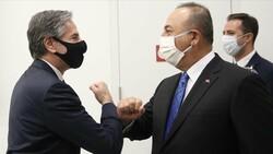 Mevlüt Çavuşoğlu, ABD'li mevkidaşı Blinken'la görüştü