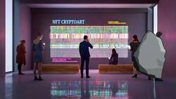NFT olarak satışa çıkan kaya görseli 1.3 milyon dolara satıldı