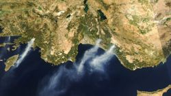 NASA, uydu görüntülerini kullanarak itfaiyecilere yardımcı olacak