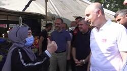 Gurbetçi vatandaştan Adil Karaismailoğlu'na: Buradaki ilgi gözlerimi yaşarttı
