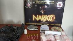 Edirne'de uyuşturucu ve sahte alkol operasyonu: 1 tutuklama