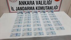 Ankara'daki yolcu, üzerinde sahte parayla yakalandı