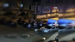 Sultangazi'de yüksek sesle eğlence yapan şahıslar polise saldırdı