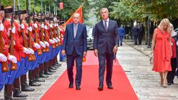Karadağ'da, Cumhurbaşkanı Erdoğan'dan 2022 Dünya Kupası mesajı