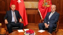 Cumhurbaşkanı Erdoğan, Karadağ Başbakanı Krivokapiç'le görüştü