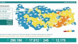 28 Ağustos Türkiye'de koronavirüs tablosu