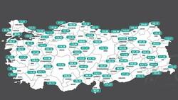 Türkiye'nin haftalık koronavirüs vaka sayıları belli oldu