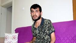 İstanbul'da iş kazası geçiren genç, yıllardır güneşe hasret