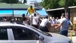 Ümraniye'de iki grup arasında kavga