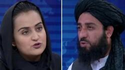 Taliban yetkilisiyle ekrana çıkan kadın gazeteci ülkeyi terk etti