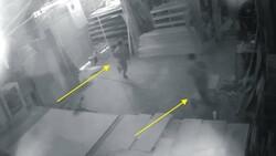 Osmaniye'de hırsızlar, girdikleri iş yerinde fotoğraf çekilip eğlendi