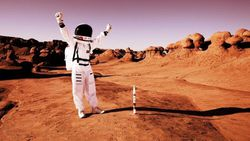 İnsanların Mars'a gitmesi için en uygun zaman: Solar maksimum