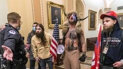 ABD Kongresi'ni basan 'boynuzlu adam' mahkemede suçunu kabul etti