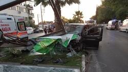 Manisa'da işçi servisi kaza yaptı: 18 yaralı