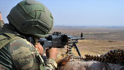 Barış Pınarı bölgesinde 4 PKK/YPG'li terörist öldürüldü