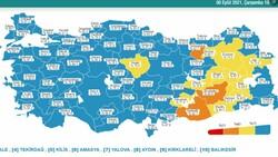 8 Eylül Türkiye'nin korona tablosu
