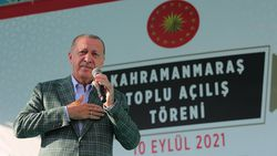 Cumhurbaşkanı Erdoğan, Kahramanmaraş'ta toplu açılış törenine katıldı