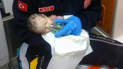 Burdur'da doğum esnasında kalbi duran bebek hayata geri döndü