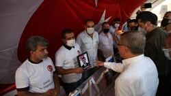 Ahmet Davutoğlu'na Diyarbakır ailelerinden tepki