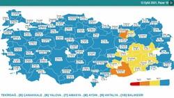 12 Eylül Türkiye'nin korona tablosu
