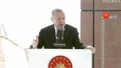 Cumhurbaşkanı Erdoğan, Sakarya Zaferi'nin 100'üncü yıl kutlamasında