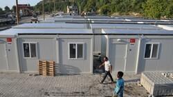 Kastamonu'da, selzedeler için  konteyner evler inşa ediliyor