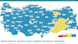 19 Eylül Türkiye'nin korona tablosu