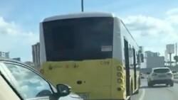 İstanbul'da arızalanan İETT, trafiği kilitledi