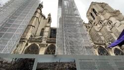 Notre Dame Katedrali, 2024'te açılacak