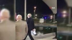 Kılıçdaroğlu'nun kameramanı havuza düştü