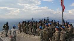 Komandolardan müşterek terörle mücadele tatbikatı