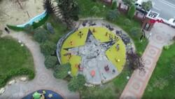 Küçükçekmece'de, çocuk parkındaki PKK/KCK sembollerine ilişkin davada hapis istemi