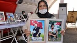 Diyarbakır'da evlat nöbetindeki anne: İki evlat acısıçekiyorum