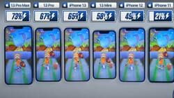Batarya testi: iPhone 13, 12, 11 ve SE