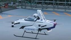 Elektrikli uçan taksi SkyDrive SD-03, 2025'te havalanacak