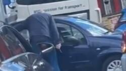 İngiltere'deki benzin sıralarında bıçaklar çekildi