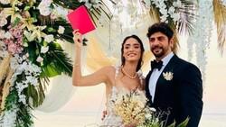 Melisa Emirbayer ve Sami Hamidi evlendi