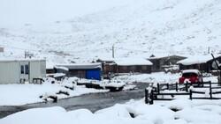Rize'de kar kalınlığı 25 santimetreyi buldu