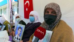 Muş'ta kızı için nöbet tutan anne: Demirtaş'ın cezaevinden çıkmasını istemiyorum