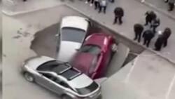 Rusya'da sıcak su boru hattı patladı, araçlar kaynar suya düştü